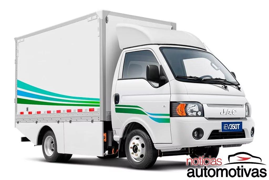 JAC iEV 350T: VUC elétrico acaba de chegar e parte de R$ 220.000