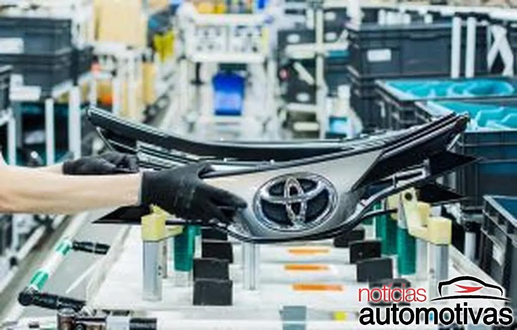 Toyota: mais chips para volume maior - produção para novamente